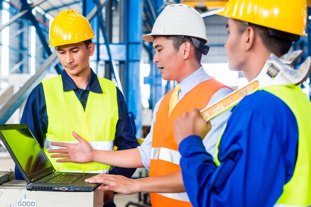 ISO 45001 recognises the importance of management engagement with the workers in managing risks and this is best done face to face in the workplace.